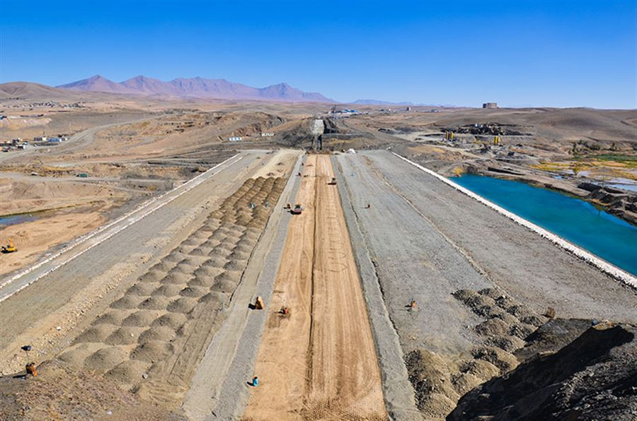 Contract award to complete of Hozian Reservoir Dam