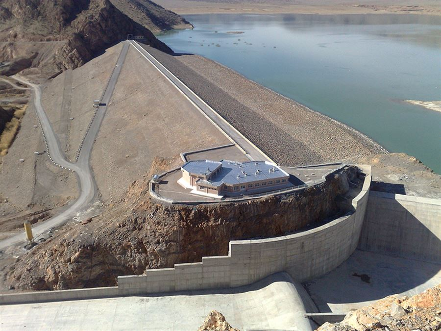 The Operation of Hozian Reservoir Dam Started