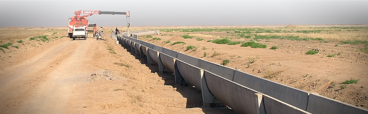 Irrigation and Drainage of the Eastern Lands of Shoaybieh